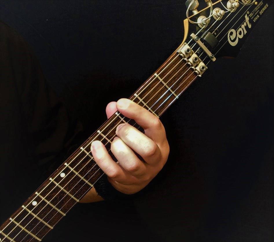 آموزش آکورد سل ماژور 7 گیتار الکتریک