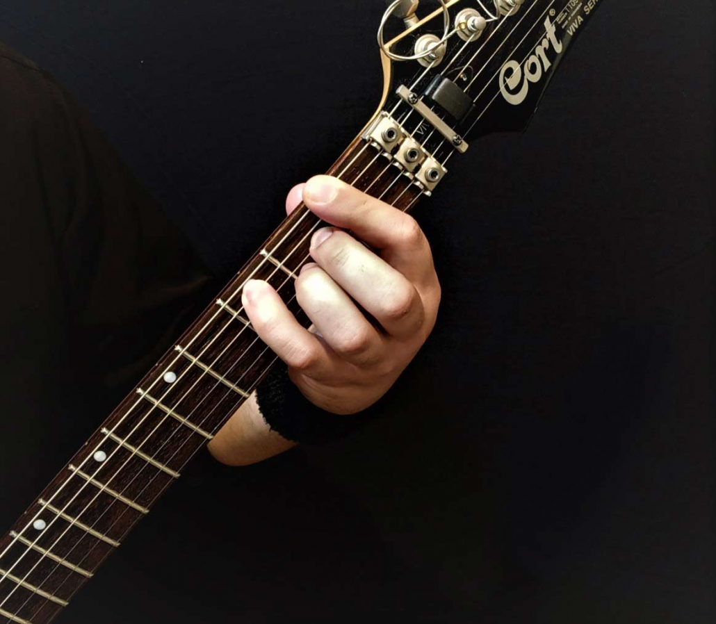 آموزش آکورد فا ماژور 7 گیتار الکتریک