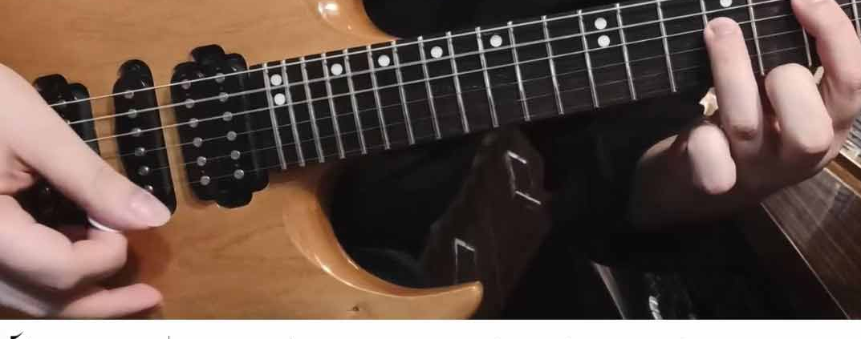 آموزش گیتار الکتریک ریتم گیتار بخش ششم