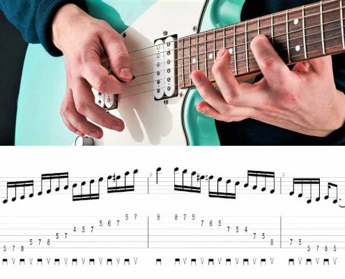 آموزش گیتار الکتریک تکنیک پیکینگ