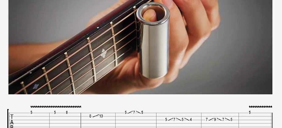 آموزش تکنیک اسلاید و ویبره گیتار الکتریک