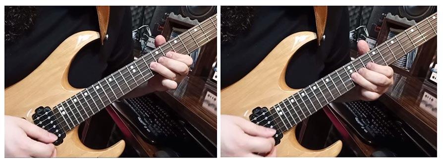 آموزش گیتار الکتریک تکنیک ویبره و اسلاید