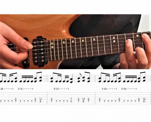 آموزش گیتار الکتریک قسمت دهم