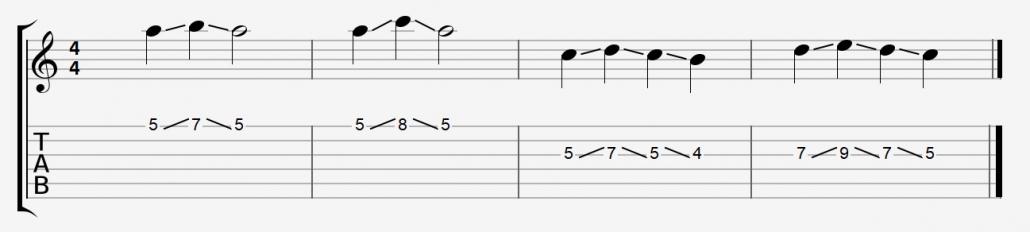 آموزش تکنیک اسلاید گیتار الکتریک 02