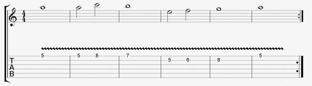 تمرین تکنیک ویبره گیتار الکتریک