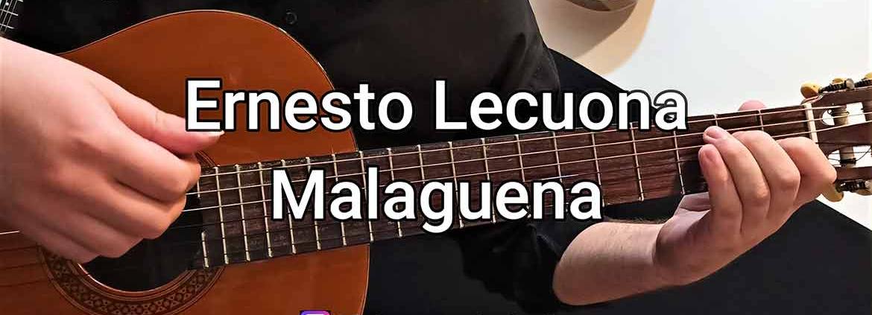 آموزش گیتار، آهنگ مالاگنیا Malaguena