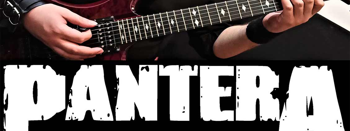 آموزش گیتار الکتریک، ریتم آهنگ پنترا