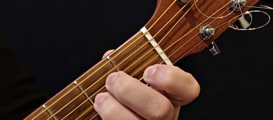 آموزش آکورد گیتار