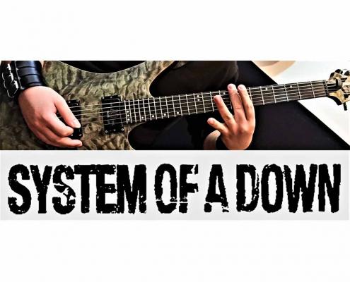 آموزش گیتار الکتریک، ریتم آهنگ سیستم آو اِ داون