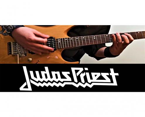 آموزش گیتار الکتریک، ریتم آهنگ جوداس پریست