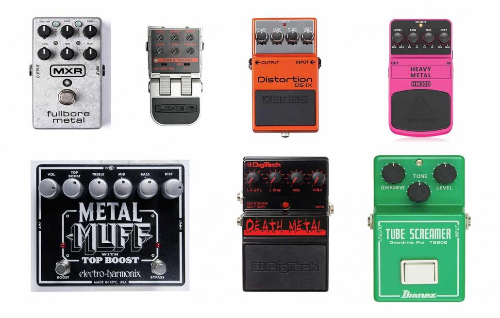 پدال های دیستروشن گیتار الکتریک