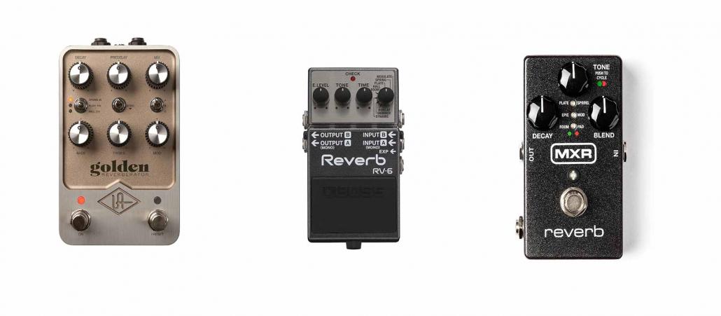 پدال های ریورب گیتار الکتریک