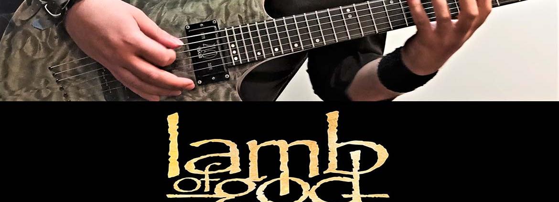 آموزش گیتار الکتریک، ریتم آهنگ لمب آو گاد